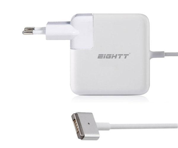 Cargador portatil Apple magsafe 2 45w 14.5v 3.1a pin magnetico - Eightt - Ea452