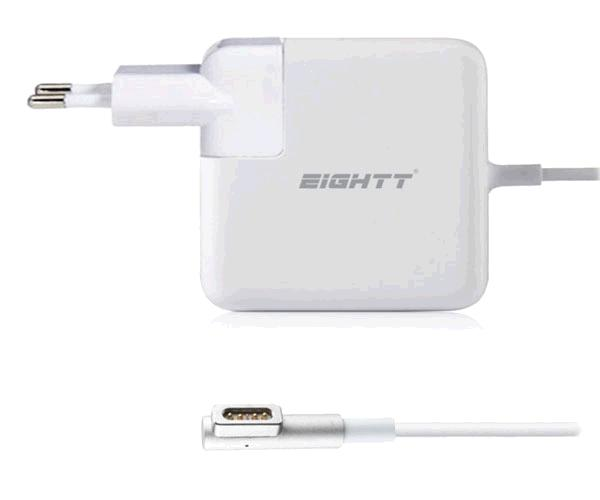 Cargador portatil Apple magsafe 1 60w 16.5v 3.65a pin magnetico - Eightt - Ea601