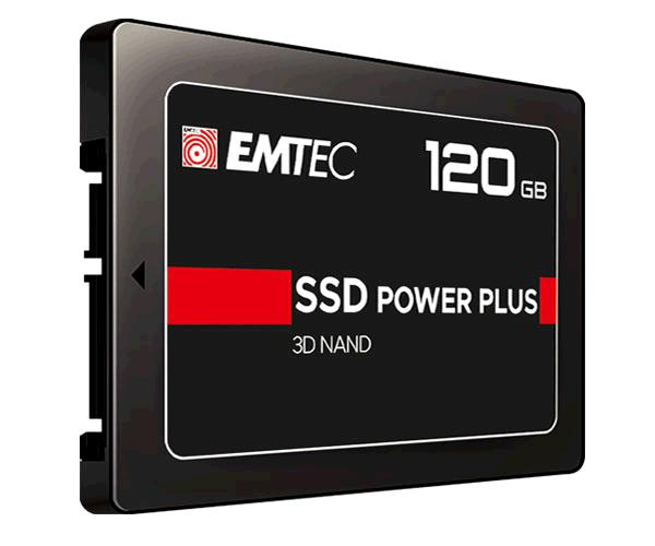 Disco duro 2.5 SSD Emtec 120Gb - X150 Power Plus - 3D Nand Phison - Sata3