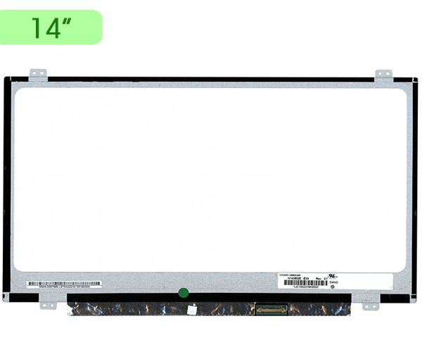 Pantalla portatil 14 Slim LED edp 30 pines - Ancho 32cm