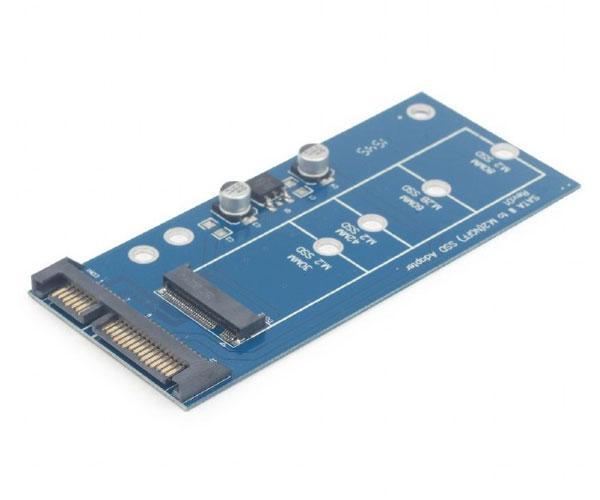"""Adaptador M.2 Sata 3.0 a Micro sata 1.8"""" SSD  -  ee18-m2s3pcb-01"""