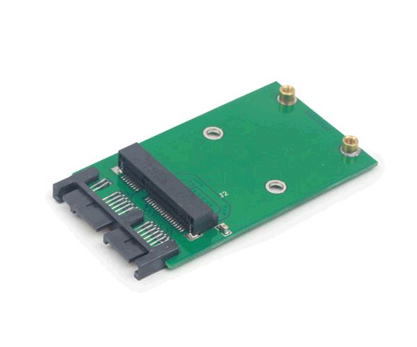 "ADAPTADOR MSATA (MINI SATA) 3.0 A MICRO SATA 1.8"" SSD M812 -  EE18-MS3PCB-01"