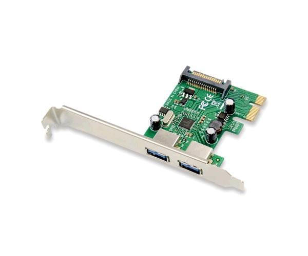 Tarjeta controladora Conceptronic Pci Express USB 3.0 - 2 Puertos - Incluye soporte LP - Emrick U32
