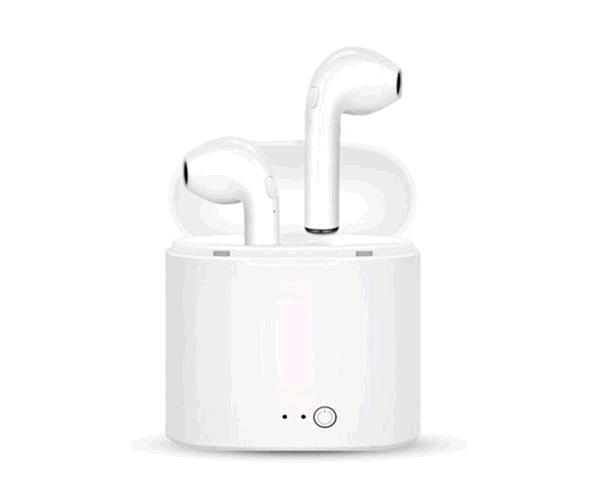Auriculares Bluetooth myway blancos - bt4.2+edr - auricular 45mah - estuche carga 400mah