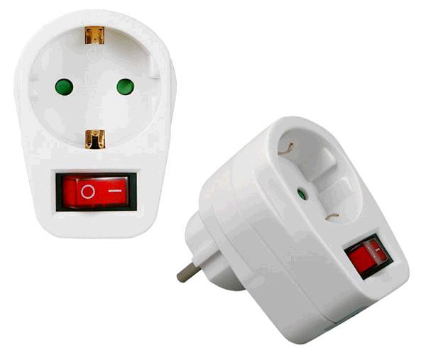 Enchufe con interruptor maxprotec ep606