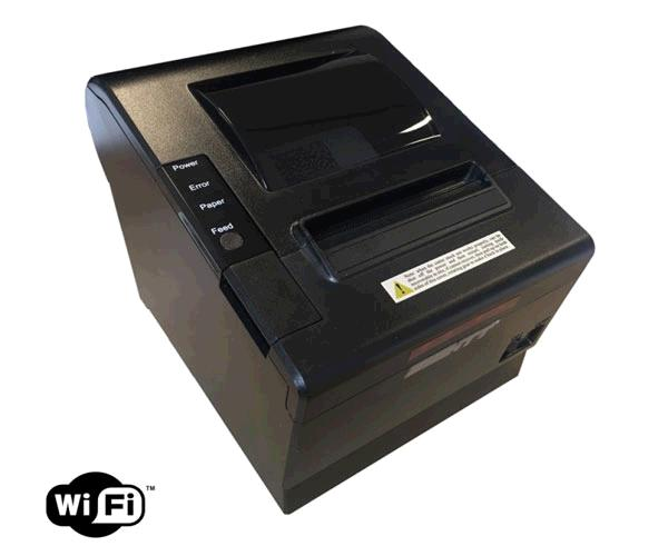 Impresora tickets termica Inalambrica Eightt - papel 80mm - Wifi - Ethernet - USB - serie