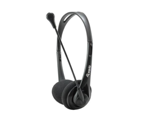 Auriculares con Microfono Equip Life  - Ps4 - Xbox - Control de volumen - Jack 3.5mm - VoIp - negro - Eq245302