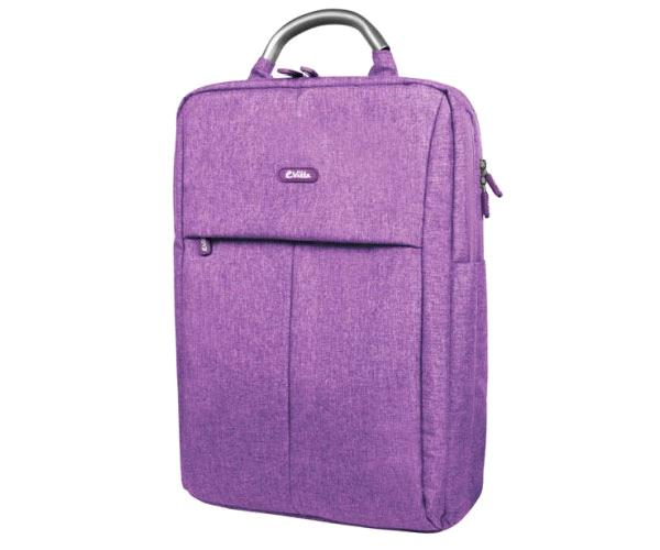 Mochila E-Vitta Business Purpura Hasta 16 pulgadas - Impermeable - Asa de transporte