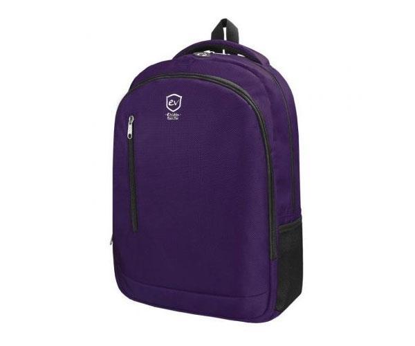 Mochila E-Vitta Discovery Backpack  Morada 15.4 a 16 pulgadas - Tirantes acolchados y ajustables - Asa de transporte