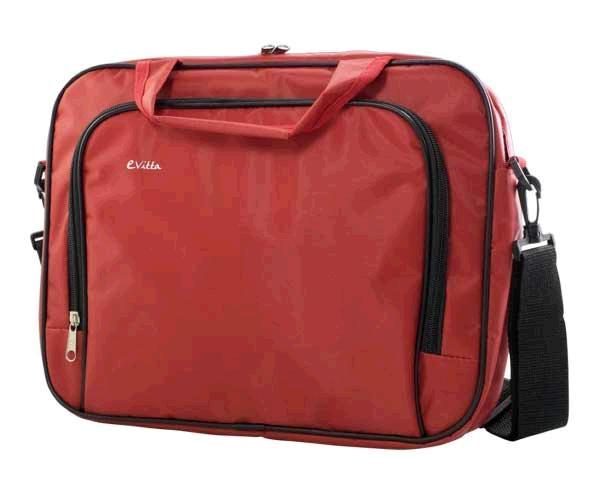 Maletin portatil e-vitta essentials rojo 15.4 a 16 pulgadas
