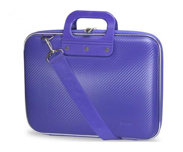 Maletin Rigido portatil Eva Pu Fibra de carbono - Purpura - e-vitta - 15.6