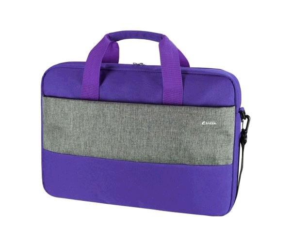 Maletin portatil e-vitta Master Purple 15.4 a 16 pulgadas - Correa de Hombro - Interior acolchado