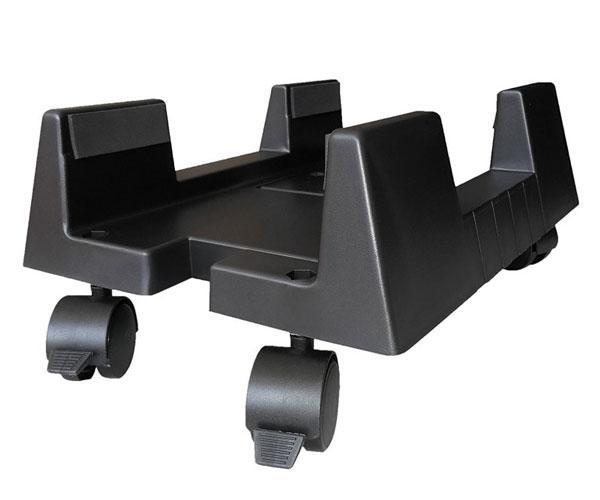 Soporte cpu con ruedas ewent ew1290 negro