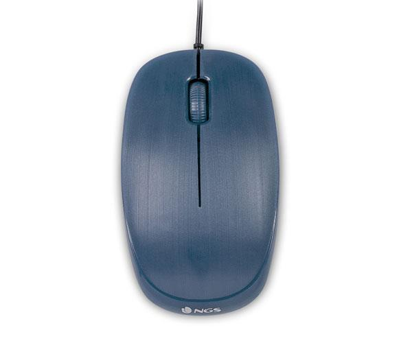 Raton USB NGS Flame Blue