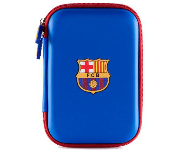 """Funda universal 2.5"""" para disco duro,  auriculares   F.C Barcelona con licencia"""