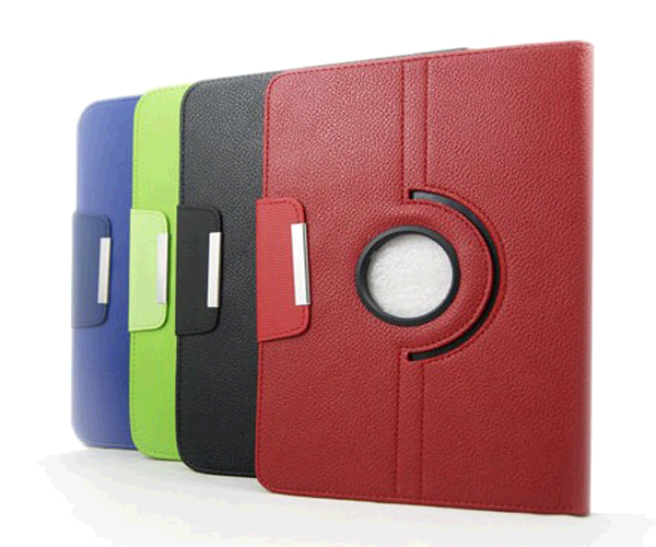 Funda tablet giratoria Galaxy tab2 p3100 MTK 7 pulgadas morada
