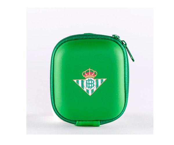 Funda universal para Airpods, pendrive, watch , auriculares, Real Betis con licencia