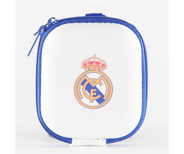 Funda universal para Airpods, pendrive, watch , auriculares, Real Madrid con licencia