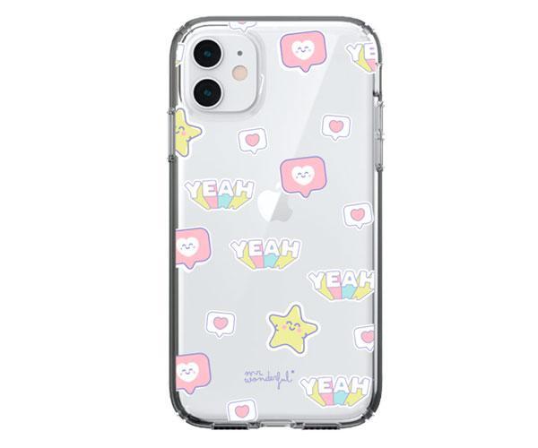 Carcasa - funda trasera TPU Yeah  Iphone 12 Pro Max Mr Wonderful con licencia