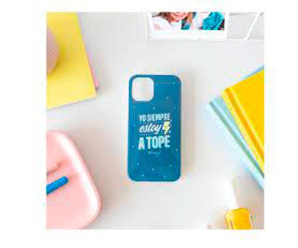 Carcasa - funda trasera TPU  A Tope  Iphone 12 Pro Max  Mr Wonderful con licencia