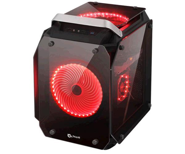 Caja cubo ATX gaming Talius golem - cristal templado - USB 3.0