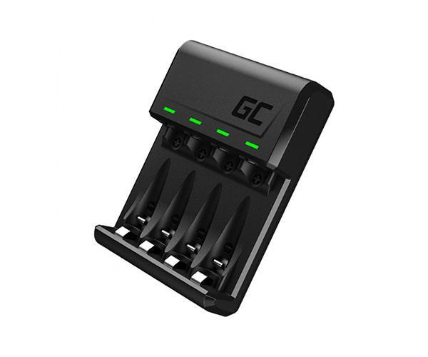 Cargador pilas aa - aaa + Micro USB + Type C GREENCELL