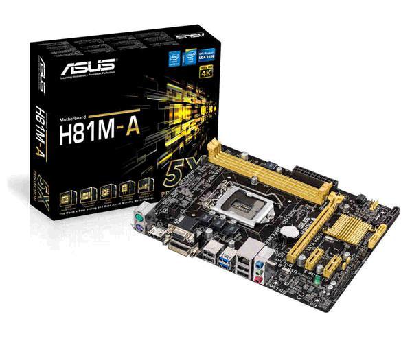 PLACA BASE 1150 ASUS H81M-A - MATX - DDR3 - USB 3.0 - HDMI