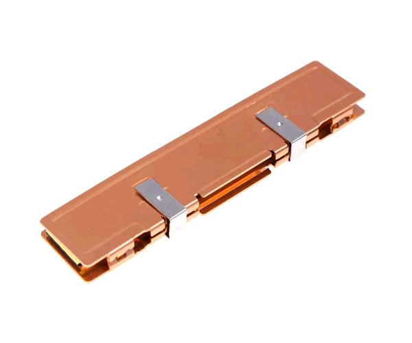 Disipador aluminio memoria ram DIMM bronce - ddr - DDR2 - DDR3 - DDR4