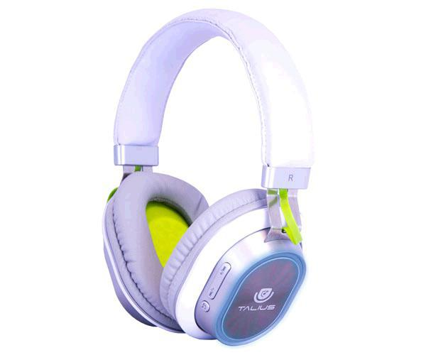 Auriculares Talius Bluetooth LED tal-Hph-5004bt blanco