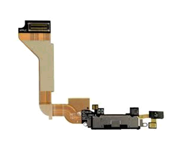 Flex conector carga iPhone 4 negro