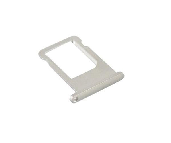 Bandeja sim iPhone 6 blanco-plata