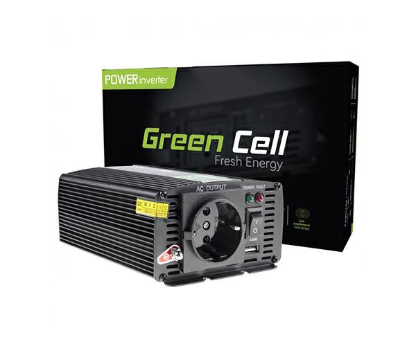 Inversor de corriente para coche 12V a 230V 300W - 600W