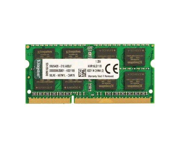Memoria ram Kingston SO-DIMM 8Gb DDR3l 1600 mhz cl11 -  kvr16ls11-8