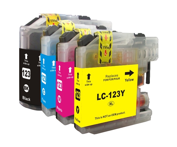 INKJET ALTERNATIVO BROTHER LC121/123XL NEGRO V.3  20.6ML