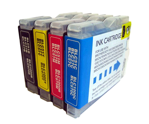 INKJET INPRO BROTHER LC970/1000C CIAN