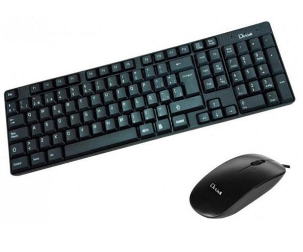 Combo teclado + raton USB negro l-link    ll-kb-816-combo