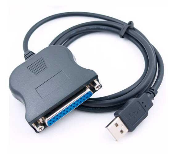 CABLE ADAPTADOR DE USB A PARALELO 25 PINES HEMBRA 1.8M   L-LINK  LL-USP-1284