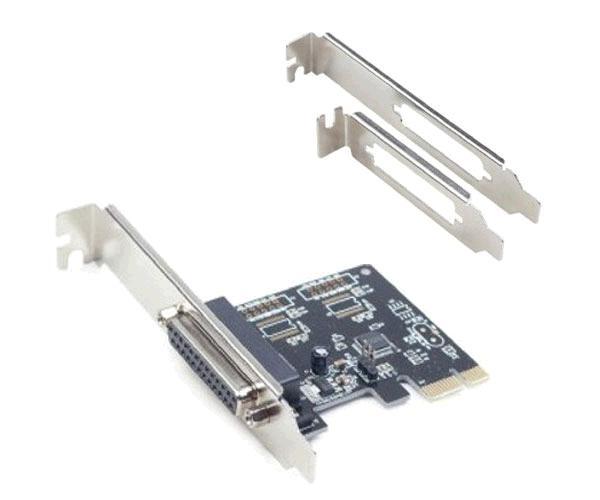 TARJETA PCI EXPRESS PARALELO DB25 + ADAPTADOR PERFIL BAJO