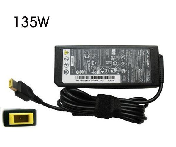 Cargador portatil Lenovo 20v 6.75a rectangular 135w