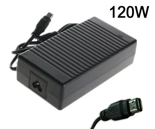 CARGADOR PORTATIL COMPAQ-HP 18.5V 6.5A USB OVALADA