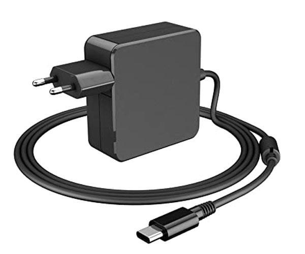 Cargador portatil Lenovo - Lg - Dell - Asus - 65w - 20v 3.25a - 15v 3a - 12v 3a - Type-C