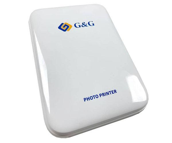 Impresora Fotográfica de bolsillo G&G - Bluetooth - IOS - Android - GG-pp023
