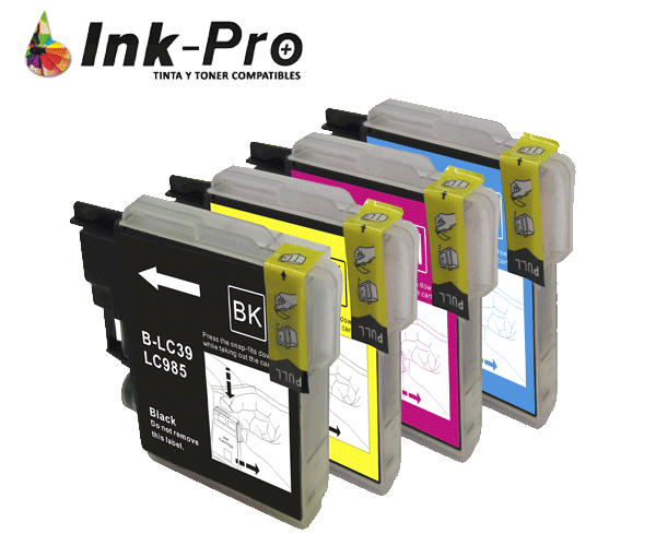 INKJET INPRO BROTHER LC985C CIAN