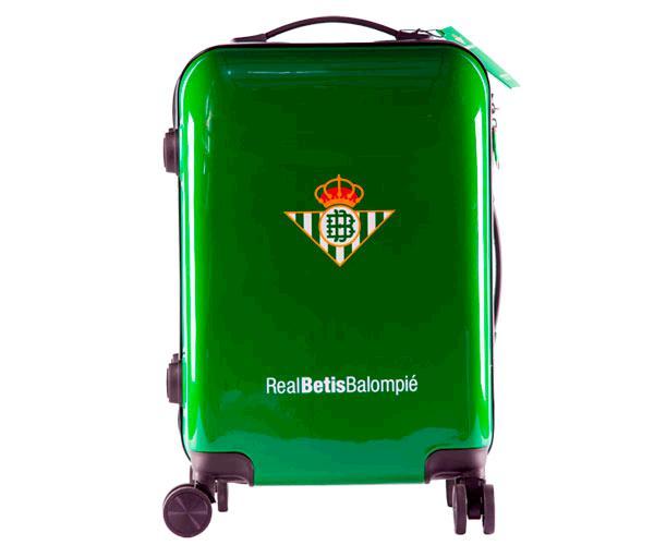 Maleta de viaje Escudo Real Betis con licencia
