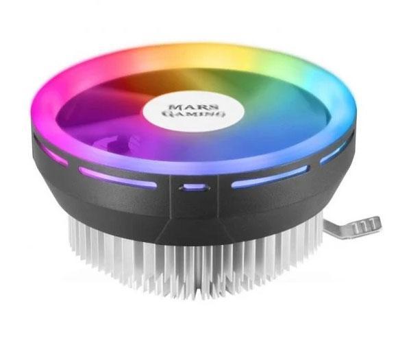 Ventilador Cpu Mars Gaming Mcpu120 Chroma Rgb - Perfil bajo - Fan 12cm - PWM 4 Pines - Multisocket Intel - Amd - Lga1200