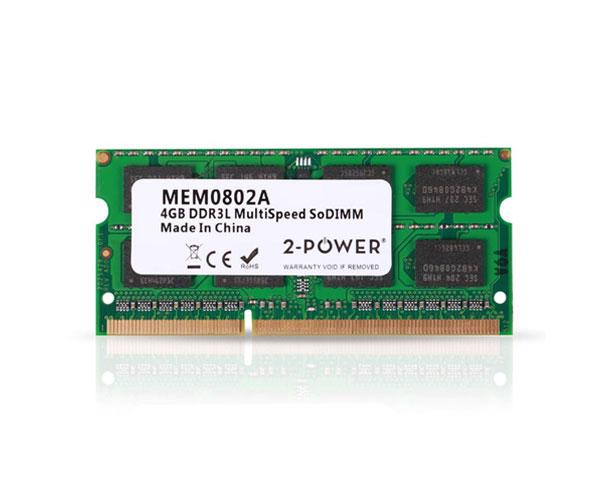 Memoria ram 2power SO-DIMM 4Gb DDR3L 1600mhz Bulk