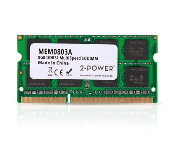 Memoria ram 2power SO-DIMM 8Gb DDR3L 1600mhz Bulk