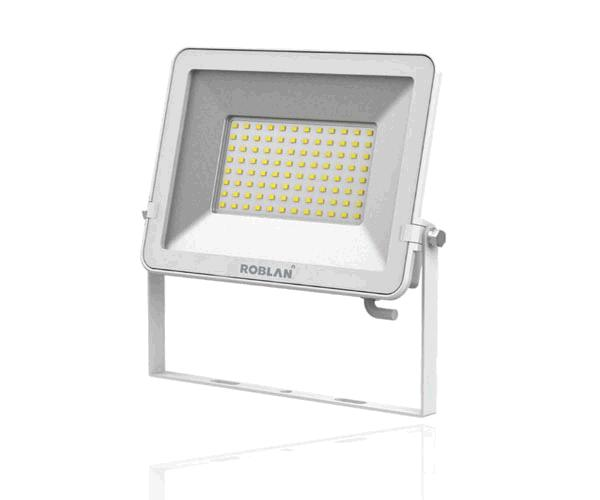 Proyector LED F Smd Roblan blanco 50w - 6500k - luz dia - 6000lm - 200-240v - ip65