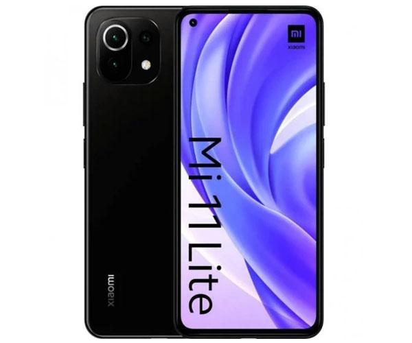 "Smartphone Xiaomi Mi 11 Lite Boba Black 6.55"" - Octacore Snapdragon 732g - 6Gb - 128Gb - 4G - 64-8-5-16 mpx"