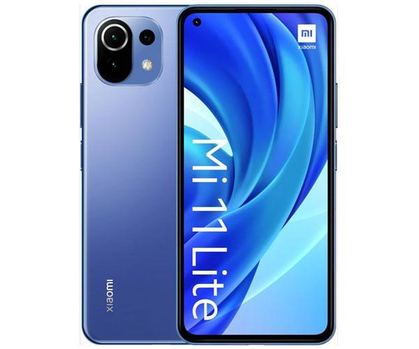 "Smartphone Xiaomi Mi 11 Lite Bubblegum Blue 6.55"" - Octacore Snapdragon 732g - 6Gb - 128Gb - 4G - 64-8-5-16 mpx"